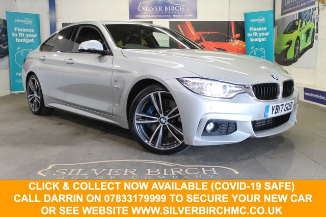 USED 2017 55 BMW 4 SERIES 3.0 430D M SPORT GRAN COUPE 4d 255 BHP Fantastic Spec and Condition