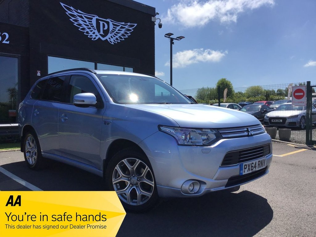 USED 2014 64 MITSUBISHI OUTLANDER 2.0 PHEV GX 4H 5d 162 BHP FINANCE RATES FROM 5.9% APR