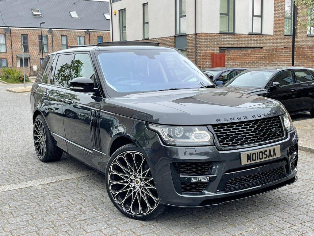 USED 2017 10 LAND ROVER RANGE ROVER 5.0L V8 AUTOBIOGRAPHY 5d AUTO 510 BHP