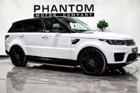 USED 2018 68 LAND ROVER RANGE ROVER SPORT 2.0 HSE 5d 399 BHP
