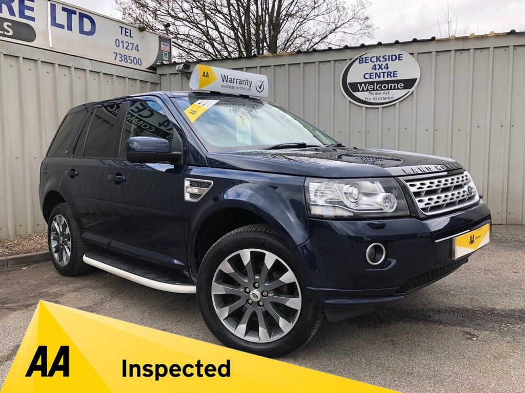 USED 2012 62 LAND ROVER FREELANDER 2.2 SD4 HSE LUXURY 5d 190 BHP AA INSPECTED. FINANCE. WARRANTY. HIGH SPEC. LOW MILEAGE. MANY EXTRAS