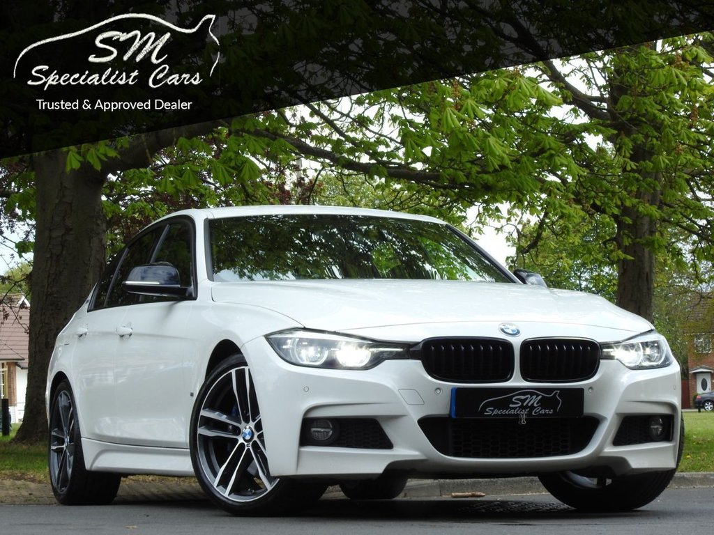 USED 2017 67 BMW 3 SERIES 2.0 330E M SPORT SHADOW EDITION 4d 249 BHP 1 OWNER 43K AC HUGE SPEC VAT Q