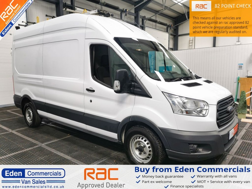 USED 2015 15 FORD TRANSIT 2.2 350 LWB HIGH ROOF L3 H3 153 BHP * AIR CON *