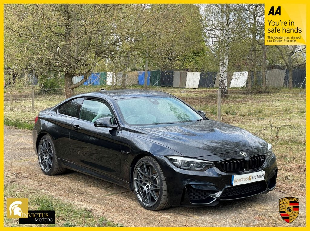 USED 2017 67 BMW M4 3.0 M4 COMPETITION 2d 444 BHP