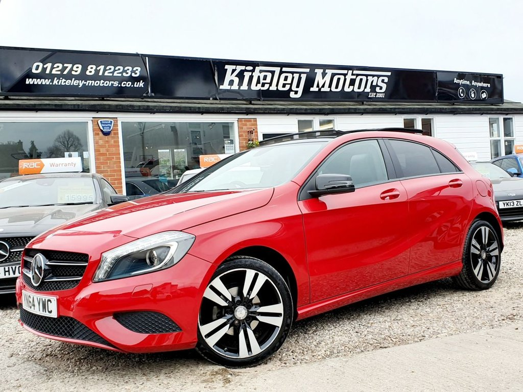 USED 2014 64 MERCEDES-BENZ A-CLASS 1.5 A180 CDI BLUEEFFICIENCY SPORT 5d 109 BHP PANORAMIC SUNROOF