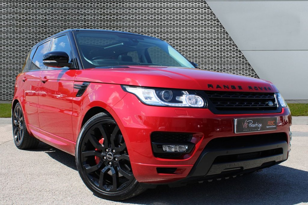 """USED 2016 66 LAND ROVER RANGE ROVER SPORT 3.0 SDV6 HSE 5d 306 BHP **PAN ROOF/BLACK PACK/22""""ALLOYS**"""
