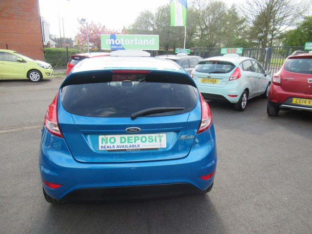 USED 2016 66 FORD FIESTA 1.2 ZETEC BLUE EDITION SPRING 5d 81 BHP **  JUST ARRIVED ** **FULL SERVICE HISTORY **
