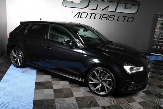 USED 2014 AUDI A3 LATE 2014 AUDI A3 2.0 TDI S LINE BLACK EDITION STYLE AUTO 148 BHP (FINANCE AND WARRANTY)
