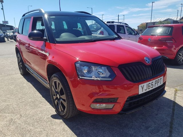 USED 2015 65 SKODA YETI 2.0 MONTE CARLO TDI SCR 5d 148 BHP 1 OWNER*4WD*BTOOTH*SERVICE HISTORY*DUEL CLIMATE*AIRCON