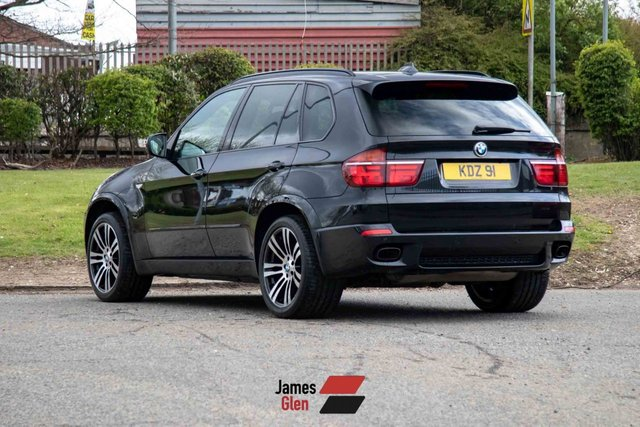 USED 2012 62 BMW X5 3.0 M50D 5d 376 BHP Four Owners   7-Stamp Service History