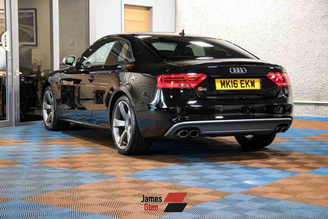 USED 2016 16 AUDI A5 3.0 S5 TFSI QUATTRO BLACK EDITION 3d 328 BHP Three Owners | Two Services