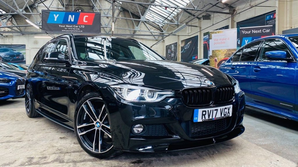 USED 2017 17 BMW 3 SERIES 2.0 320d M Sport Touring Auto xDrive (s/s) 5dr PERFORMANCEKIT+HEADUP+REVCAM