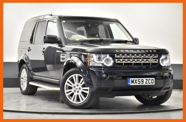 USED 2009 59 LAND ROVER DISCOVERY 3.0 4 TDV6 HSE 5d 245 BHP FULL HISTORY, 10 STAMPS - CAM BELT DONE @ 110K MILES - TRIPLE SUNROOF - FULL COLOUR REVERSE CAMERA - PARKING SENSORS FRONT & REAR - SAT NAV - REAR PRIVACY GLASS - SIDE STEPS FITTED - HSE TOP SPEC