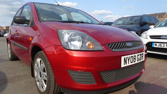 USED 2008 08 FORD FIESTA 1.2 STYLE 16V 5d 78 BHP TONS OF SERVICE-1 OWNER
