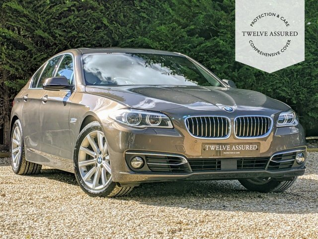 USED 2014 14 BMW 5 SERIES 3.0 530D LUXURY 4d AUTO 255 BHP