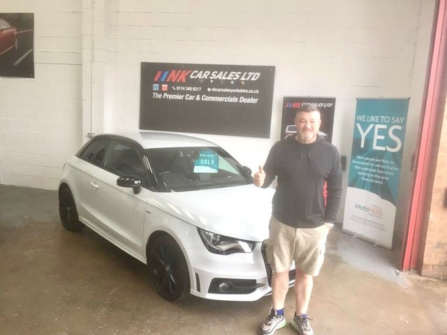 2014 14 AUDI A1 1.6 TDI S LINE STYLE EDITION 3d 103 BHP FULL LEATHERS EXENONS