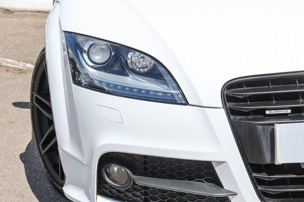 USED 2014 63 AUDI TT 2.0 TDI QUATTRO BLACK EDITION 2d 168 BHP