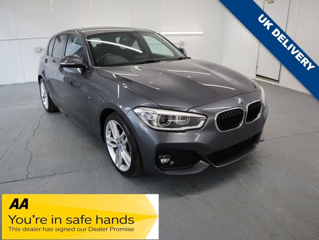USED 2016 16 BMW 1 SERIES 1.5 116D M SPORT 5d 114 BHP GREAT BMW SERVICE HISTORY AND ONLY £20 ROAD TAX