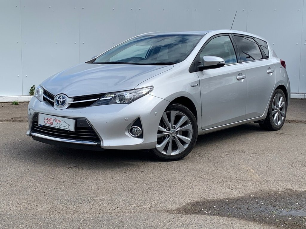 USED 2013 62 TOYOTA AURIS 1.8 EXCEL VVT-I  5d 99 BHP