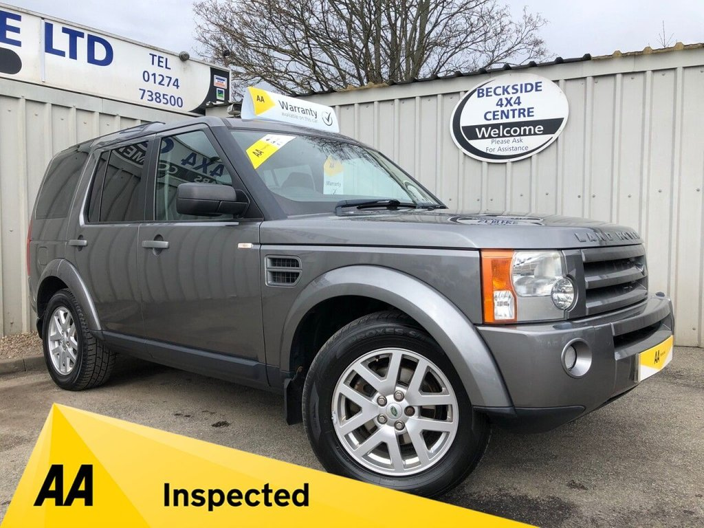 USED 2009 09 LAND ROVER DISCOVERY 3 2.7 3 TDV6 XS 5d 188 BHP AA INSPECTED. FINANCE. WARRANTY. 7 SEATER. LOW MILEAGE. MANY EXTRAS