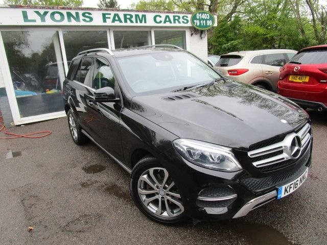 USED 2016 16 MERCEDES-BENZ GLE-CLASS 2.1 GLE 250 D 4MATIC SPORT 5d 201 BHP AUTOMATIC FOUR WHEEL DRIVE