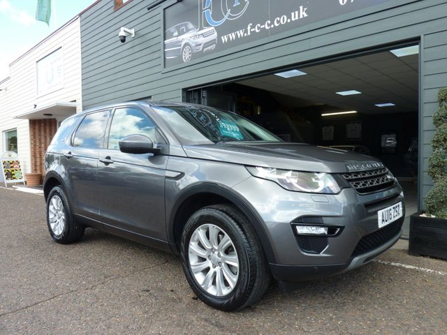 2016 16 LAND ROVER DISCOVERY SPORT 2.0 TD4 SE TECH AUTO 5d 180 BHP