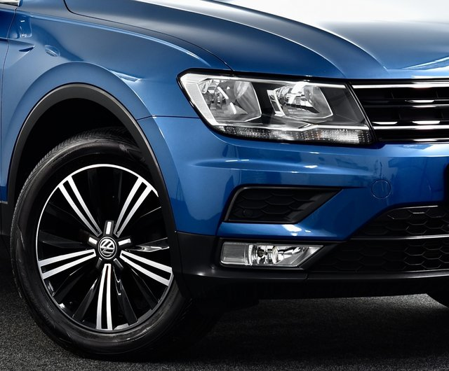 USED 2017 17 VOLKSWAGEN TIGUAN 2.0 TDI BlueMotion Tech SE 4Motion (s/s) 5dr £30k New, 2 Owners, Winter Pk