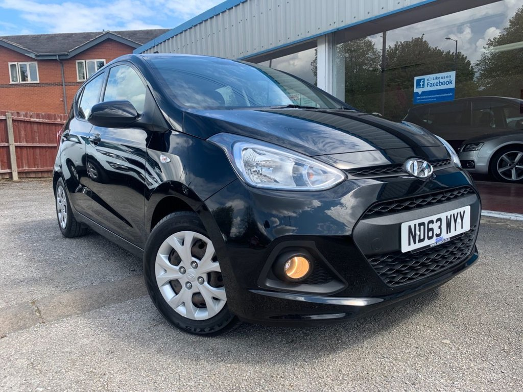 USED 2014 63 HYUNDAI I10 1.2 SE 5d 86 BHP LOW MILEAGE, £30 A YEAR TAX, AIR CONDITIONING