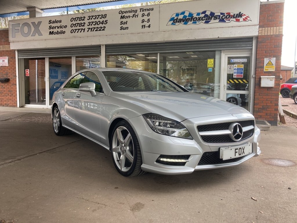 USED 2014 14 MERCEDES-BENZ CLS CLASS 3.0 CLS350 CDI BLUEEFFICIENCY AMG SPORT 4d AUTO 265 BHP