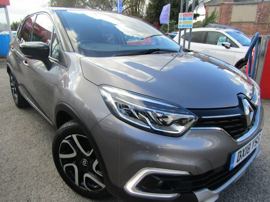 USED 2018 18 RENAULT CAPTUR 0.9 DYNAMIQUE S NAV TCE 5d 90 BHP Great example popular family hatch ** Sat Nav version  ** Stylish two tone version ** Fully dealer serviced ** Low rate pcp finance ** Spacious & stylish ** Please check our reviews ** P/X welcome **