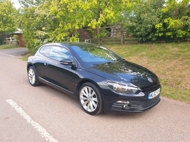 USED 2012 62 VOLKSWAGEN SCIROCCO 2.0 GT TDI BLUEMOTION TECHNOLOGY 2d 140 BHP ** MOT ** SERVICE HISTORY ** £30 ROAD TAX **