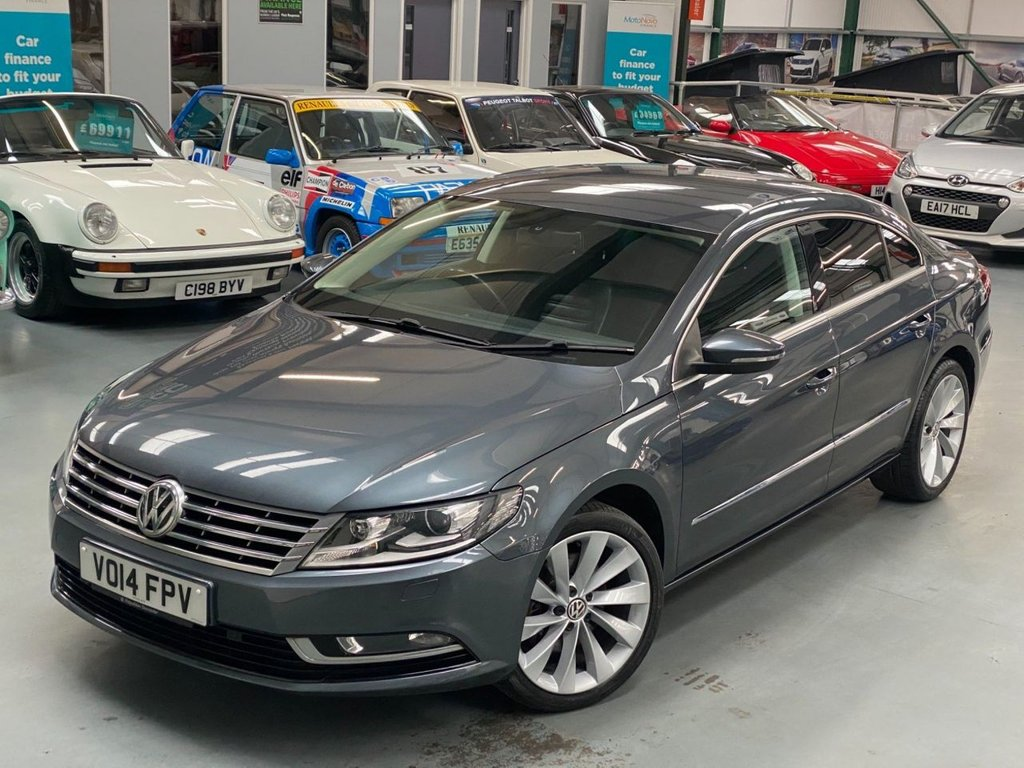 USED 2014 14 VOLKSWAGEN CC 2.0 TDI BlueMotion Tech GT 4dr 1 Previous Owner