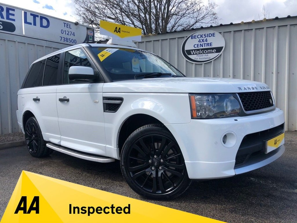 USED 2011 11 LAND ROVER RANGE ROVER SPORT 3.0 TDV6 HSE 5d 245 BHP AUTOBIOGRAPHY KIT AA INSPECTED. FINANCE. WARRANTY. HIGH SPEC. LOW MILEAGE. MANY EXTRAS
