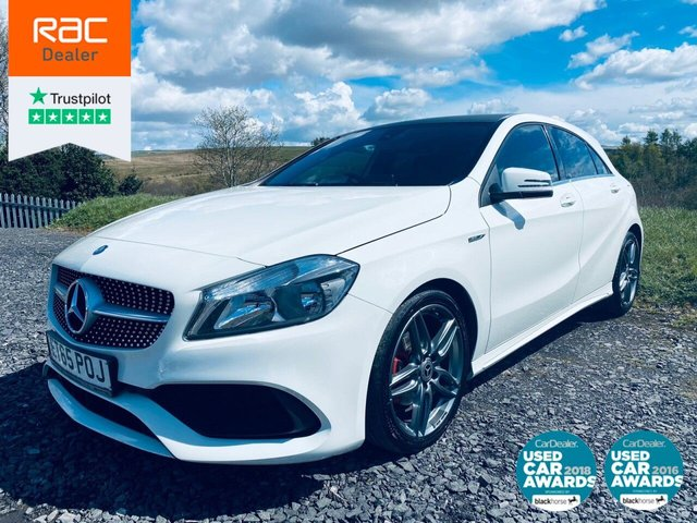 USED 2016 65 MERCEDES-BENZ A-CLASS 2.1 A 200 D AMG LINE 5d 134 BHP FULL SRVC, 1 OWNER,  2 KEYS