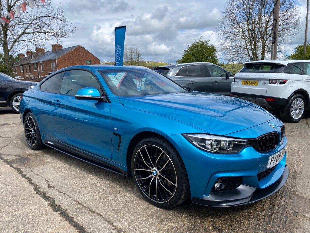 USED 2018 68 BMW 4 SERIES 3.0 430D M SPORT 2d 255 BHP * 1 OWNER * PRO NAV * 19