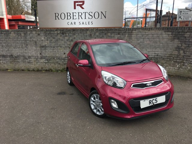 USED 2014 14 KIA PICANTO 1.2 3 5dr STUNNING HIGH SPEC 5dr HATCH