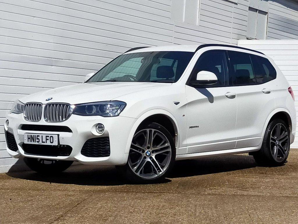 USED 2015 15 BMW X3 3.0 XDRIVE35D M SPORT 5d 309 BHP