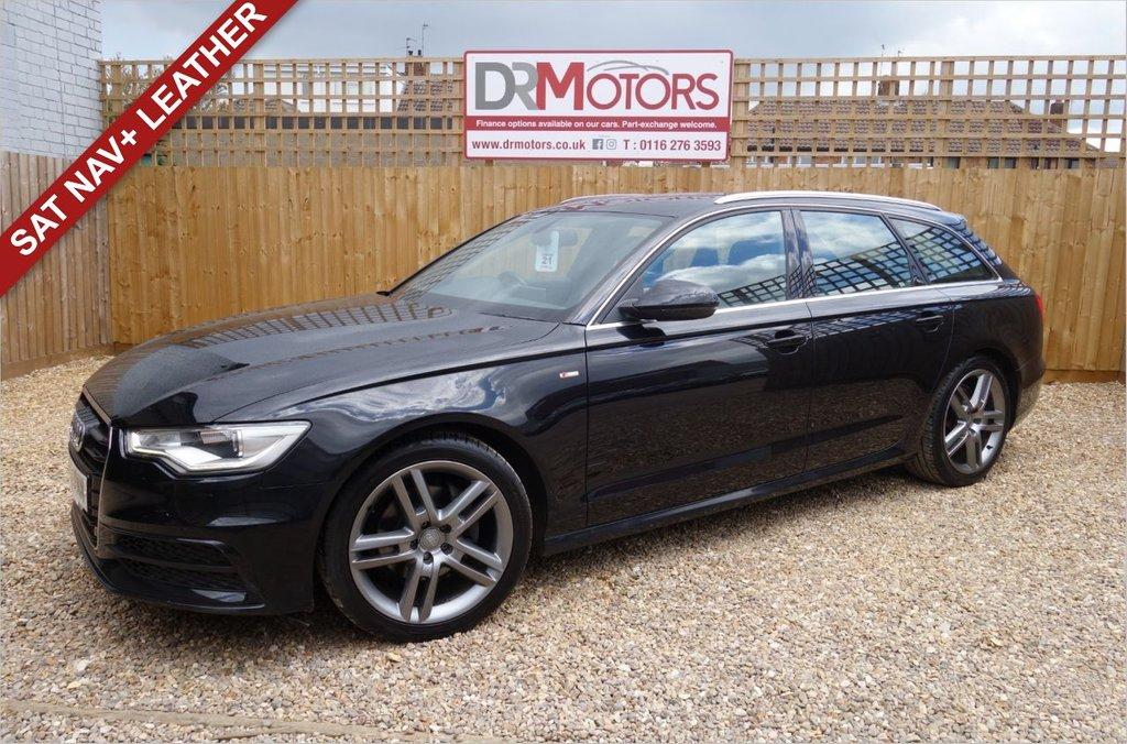 USED 2012 12 AUDI A6 2.0 AVANT TDI S LINE 5d 175 BHP *** 6 MONTHS NATIONWIDE GOLD WARRANTY ***