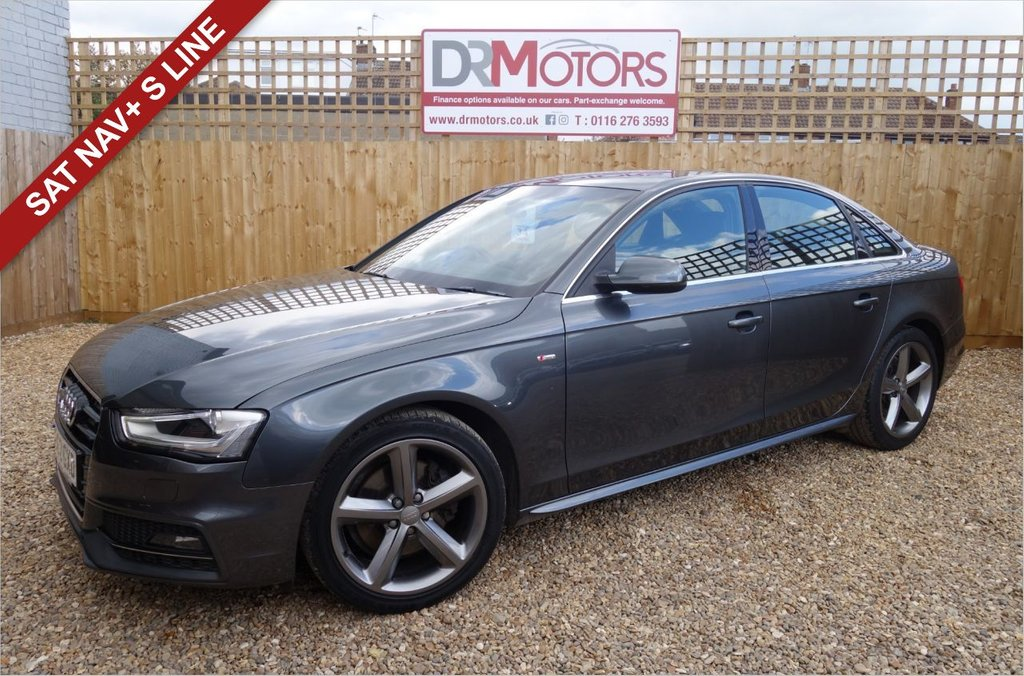 USED 2012 62 AUDI A4 1.8 TFSI S LINE S/S 4d 168 BHP *** 6 MONTHS NATIONWIDE GOLD WARRANTY ***