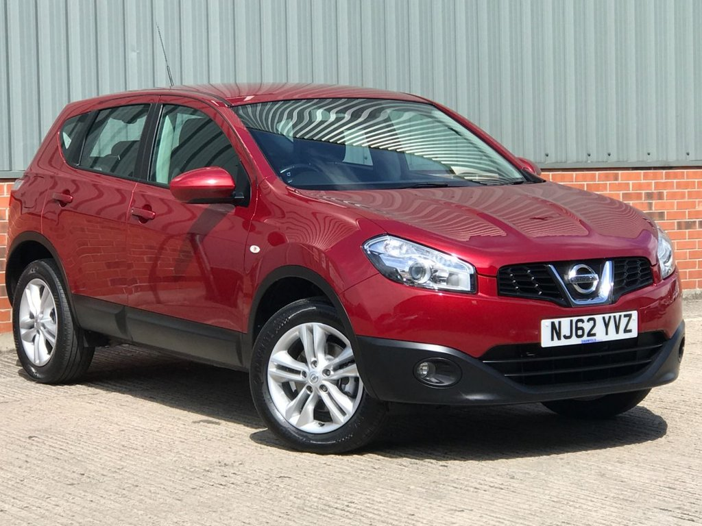 USED 2012 62 NISSAN QASHQAI 1.6 ACENTA 5d 117 BHP WELL CARED FOR EXAMPLE
