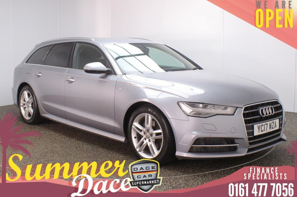 USED 2017 17 AUDI A6 AVANT 2.0 AVANT TDI ULTRA S LINE 5DR 1 OWNER AUTO 188 BHP FULL AUDI SERVICE HISTORY + HEATEDLEATHER SEATS + SATELLITE NAVIGATION + PARKING SENSOR + BLUETOOTH + CRUISE CONTROL + CLIMATE CONTROL + MULTI FUNCTION WHEEL + ELECTRIC/MEMORY FRONT SEATS + PRIVACY GLASS + XENON HEADLIGHTS + DAB RADIO + ELECTRIC WINDOWS + ELECTRIC/HEATED FOLDING DOOR MIRRORS + 18 INCH ALLOY WHEELS