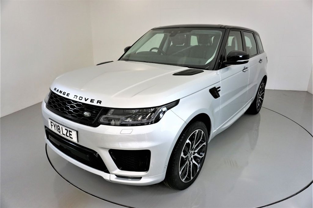 USED 2018 18 LAND ROVER RANGE ROVER SPORT 3.0 SDV6 AUTOBIOGRAPHY DYNAMIC 5d AUTO-1 OWNER CAR-LOW MILEAGE-PANORAMIC SUNROOF-21