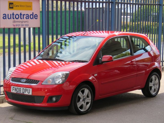 USED 2008 08 FORD FIESTA 1.2 ZETEC CLIMATE 16V 3d 78 BHP A/C-POWER FOLD MIRRORS-ALLOYS-C/D RADIO-HEATED WINDSCREEN-ABS