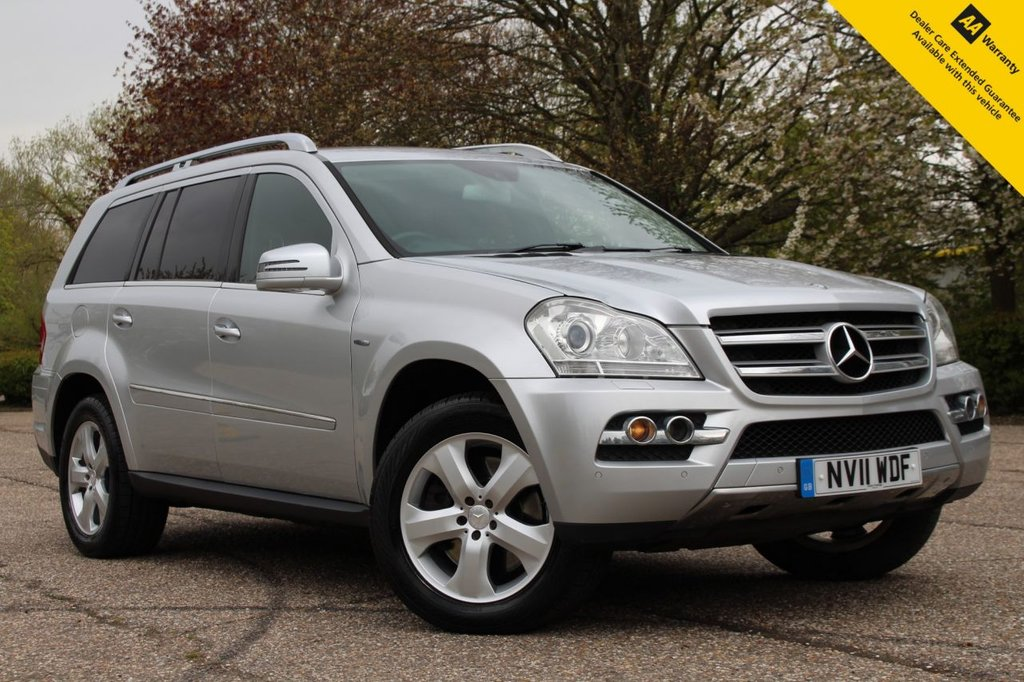 USED 2011 11 MERCEDES-BENZ GL CLASS 3.0 GL350 CDI BLUEEFFICIENCY 5d 265 BHP ** WOW - HUGE SPEC 7 SEATER AUTO - OVER £6K FACTORY OPTIONS ** BRAND NEW ADVISORY FREE MOT - MAY 2022 ** UPGRADED REAR PARKING CAMERA ** UPGRADED REAR DVD ENTERTAINMENT SCREENS ** POWER TAILGATE ** LEATHER + ELECTRIC SEATS + HEATED ** SAT NAV ** BLUETOOTH ** VOICE RECOGNITION ** 6CD CHANGER ** CLIMATE CONTROL ** CRUISE CONTROL ** POWER REAR SEATS + SUNROOF ** ONE OF A KIND CAR COSTING 60K + NEW ** MULTI AWARD WINNING 5* RATED DEALER **