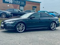 USED 2017 17 AUDI A6 2.0 TDI Black Edition S Tronic quattro (s/s) 4dr