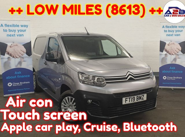 USED 2019 19 CITROEN BERLINGO 1.6  ENTERPRISE  BLUEHDI ++ READY TO DRIVE AWAY ++ Bluetooth, touch screen, Air con, Cruise, Auto headlights, Electric windows, Electric mirrors and much more ... ++LOW MILEAGE++