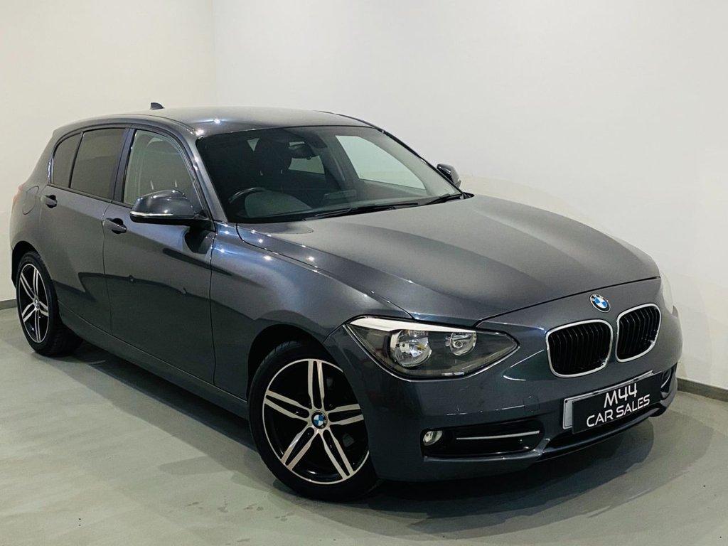 USED 2013 63 BMW 1 SERIES 2.0 116D SPORT 5d 114 BHP New Timing Chain / Bluetooth / Isofix / Sat Nav Aux