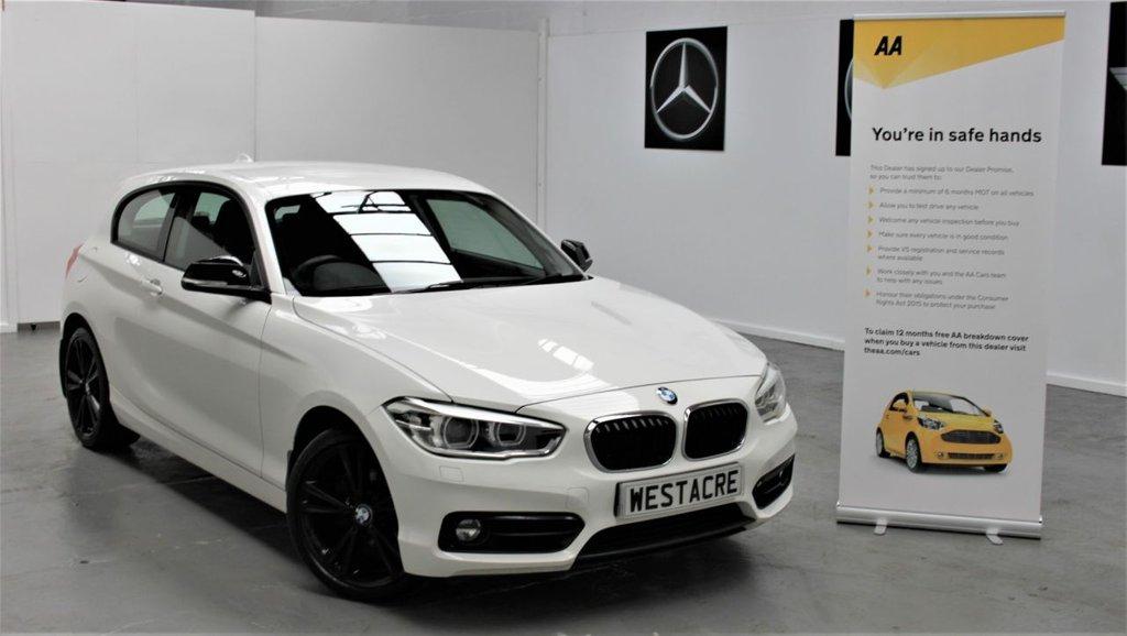 USED 2016 66 BMW 1 SERIES 2.0 118D SPORT 3d 147 BHP