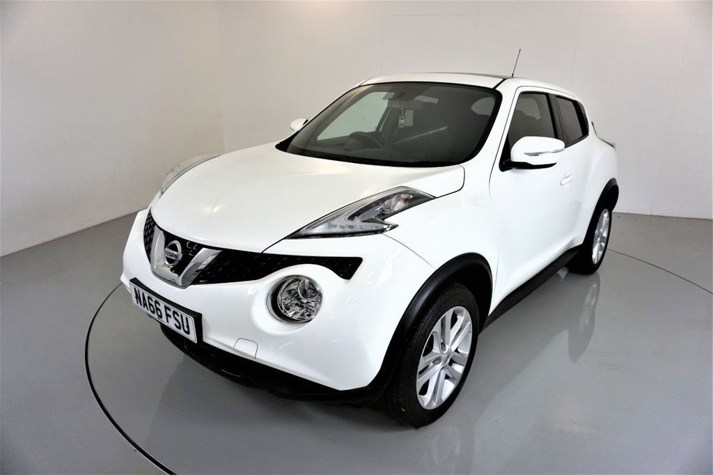 USED 2016 66 NISSAN JUKE 1.2 ACENTA DIG-T 5d-2 OWNER CAR-CRUISE CONTROL-ALLOY WHEELS
