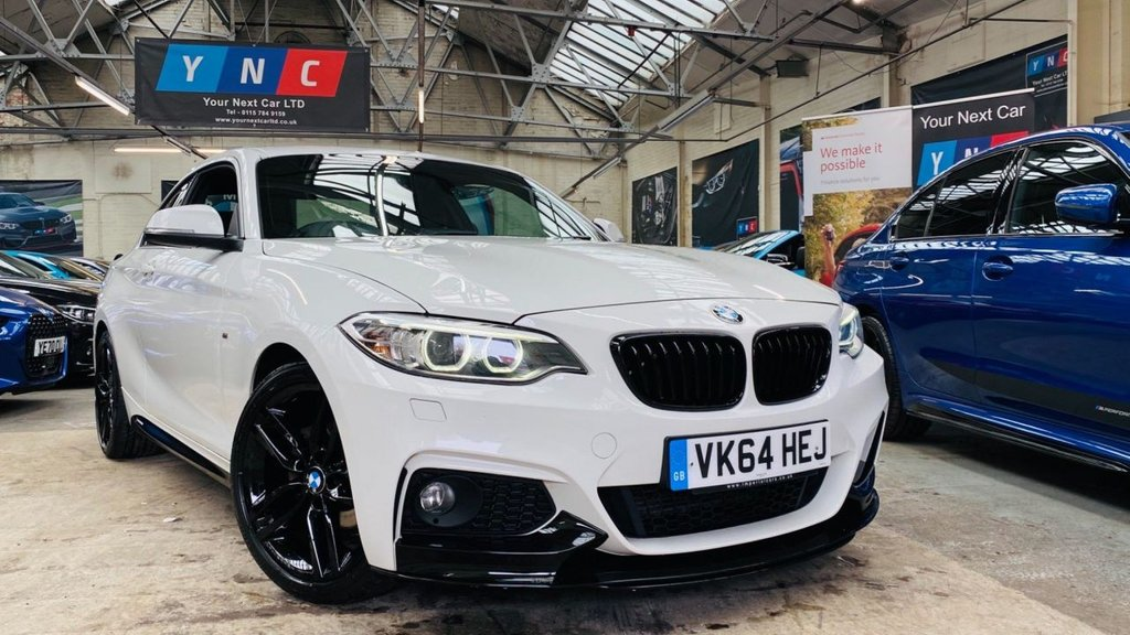USED 2014 64 BMW 2 SERIES 2.0 218d M Sport (s/s) 2dr PERFORMANCEKIT+18S+XENONS+HK